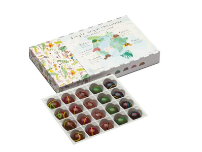 Doos assortiment origine chocolade 250gr (niet meer beschikbaar momenteel)