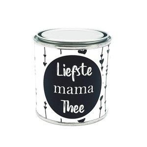 Kado blik: Liefste Mama Thee